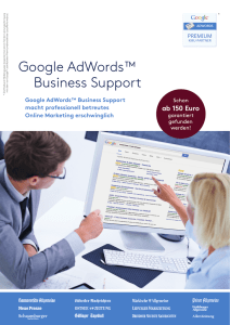Google AdWords™ Business Support