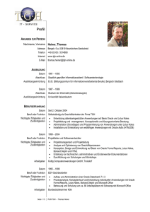 Profil - TGH IT-Service Thomas Heiner