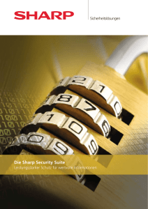 Die Sharp Security Suite