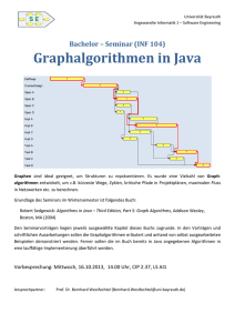 Graphalgorithmen in Java