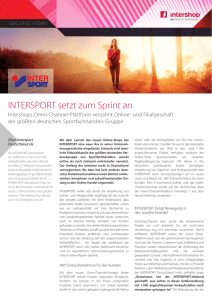 Intersport - Intershop Communications AG