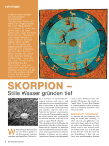 Skorpion - Hannelore Traugott