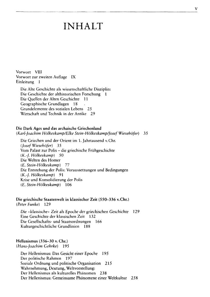 Geschichte der Antike - ein Studienbuch