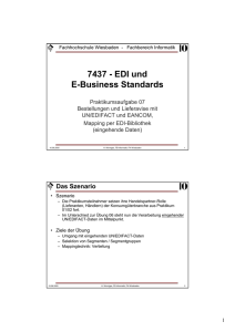 7437 - EDI und E-Business Standards