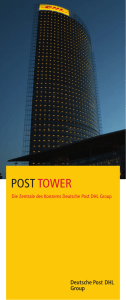 Post Tower - Deutsche Post DHL Group