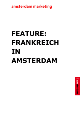 feature: frankreich in amsterdam