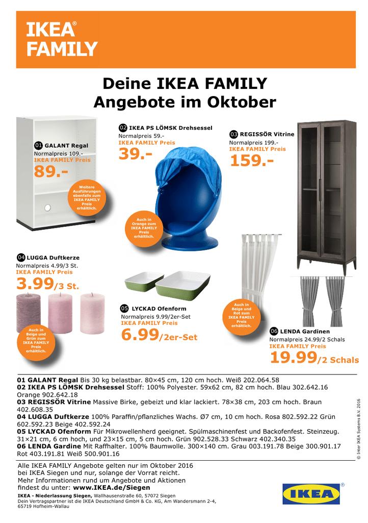 Deine Ikea Family Angebote Im Oktober