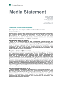 Media Statement - St. Jude Medical