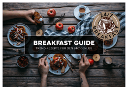 breakfast guide