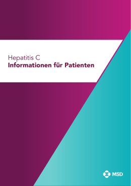 Hepatitis C Informationen für Patienten