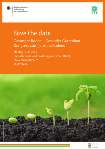 Save the date - Zentralverband Gartenbau e.V.