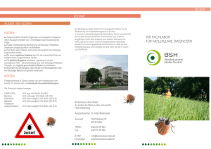 Zecken-Flyer - BioSolutions Halle