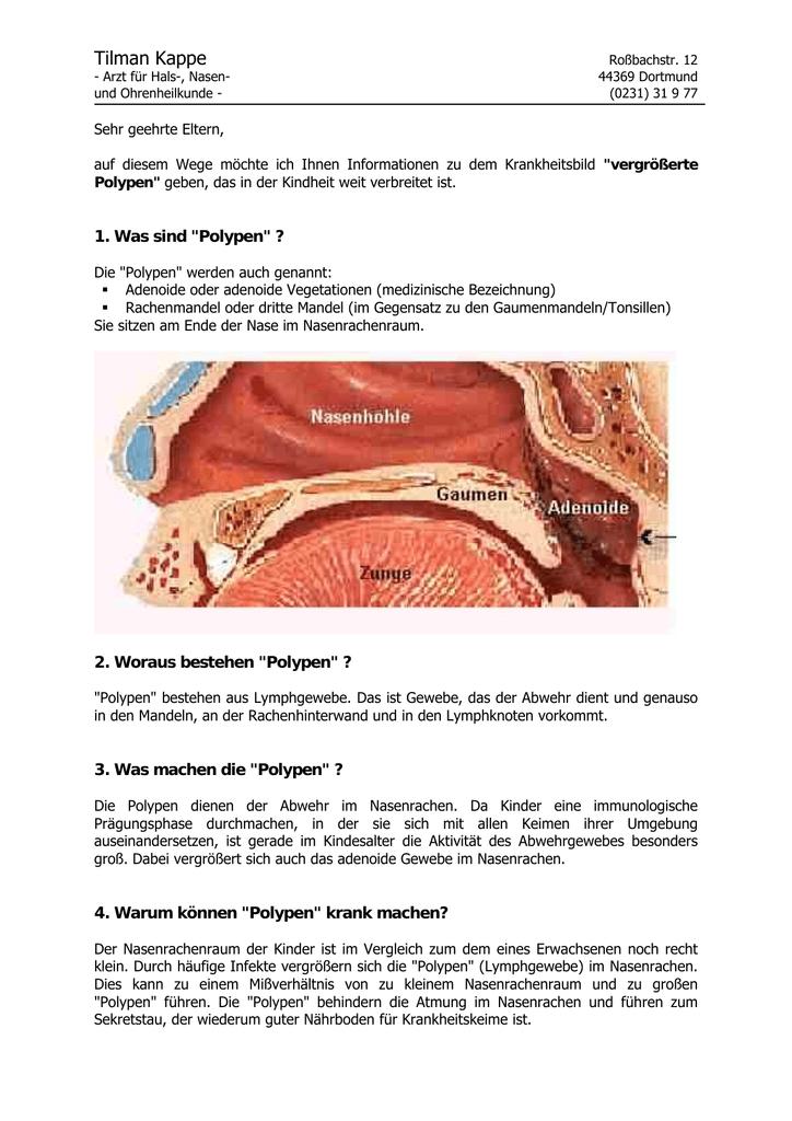 Tolle Mandeln Und Polypen Anatomie Ideen - Anatomie Ideen - finotti.info