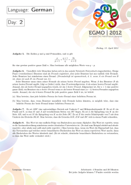EGMO | 2012 - European Girls` Mathematical Olympiad