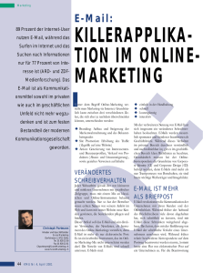 zum Thema Email-Marketing
