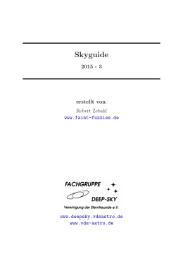 Skyguide - Faint Fuzzies