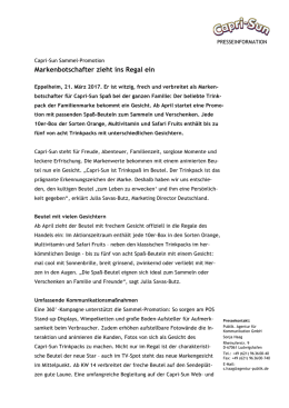Press release as PDF - Capri