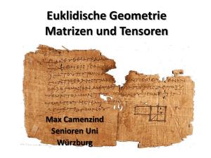trigonometrie analytische geometrie