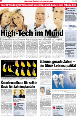High-Tech im Mund