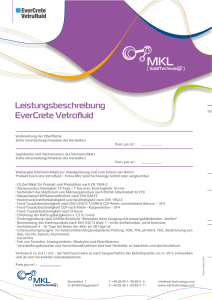EverCrete Vetrofluid - MKL SolidTechnology GmbH