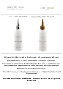 welcome hair - welcome success