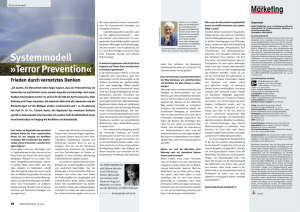 Systemmodell »Terror Prevention