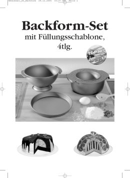 Backform-Set