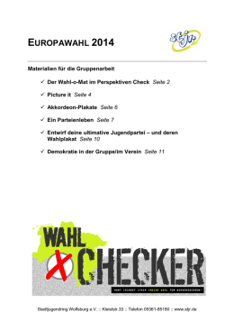 Wahlchecker Methotik
