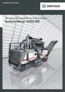 Surface Miner 2200 SM