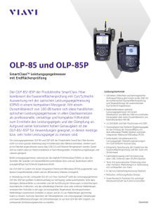 OLP-85 - Viavi Solutions Inc.