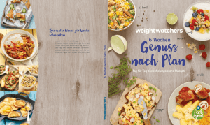 6 Wochen - Weight Watchers Produkte
