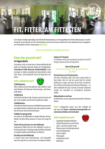 fit. fitter. am fittesten