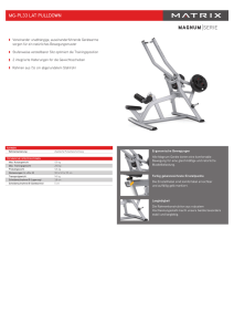 MAGNUM SERIE MG-PL33 LAT PULLDOWN