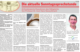Arthroskopische Operationen des Hüftgelenks