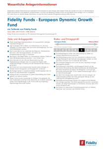 Fidelity Funds - European Dynamic Growth Fund