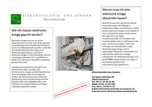Website der Baustellenanlage