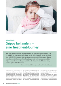Die Treatment Journey bei Grippe