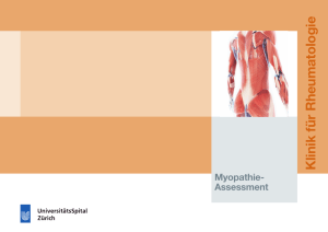 Flyer Myopathie-Assessment