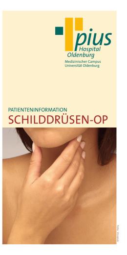 schilddrüsenoperation welche klinik