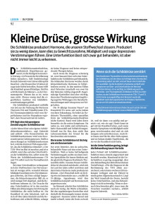 Migros Magazin Nr. 47 / 19 NOVEMBER 2012 (deutsch)