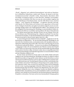 Medien Journal 4_2015 Editorial
