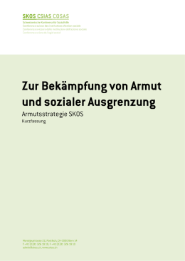 Armutsstrategie der SKOS (2011, kurze Version)