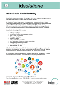21 Social Media Marketing