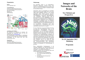 Images and Networks of the Brain