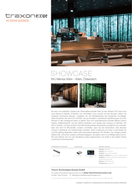 showcase - Traxon Technologies