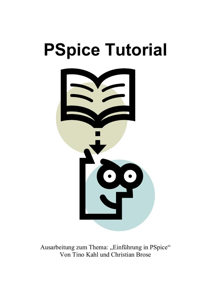 PSpice Tutorial - Projektlabor