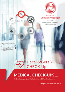 Medical Check - Dr. Christian Wiesinger