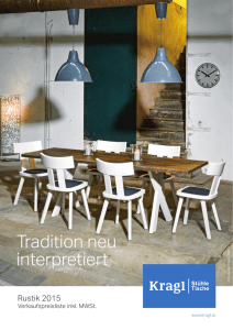 Tradition neu interpretiert
