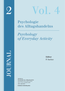 journal - allgemeine-psychologie.info