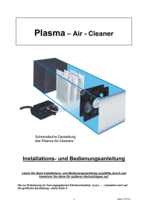 Plasma Air Cleaner